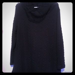Sweaters - Long Black Sweater